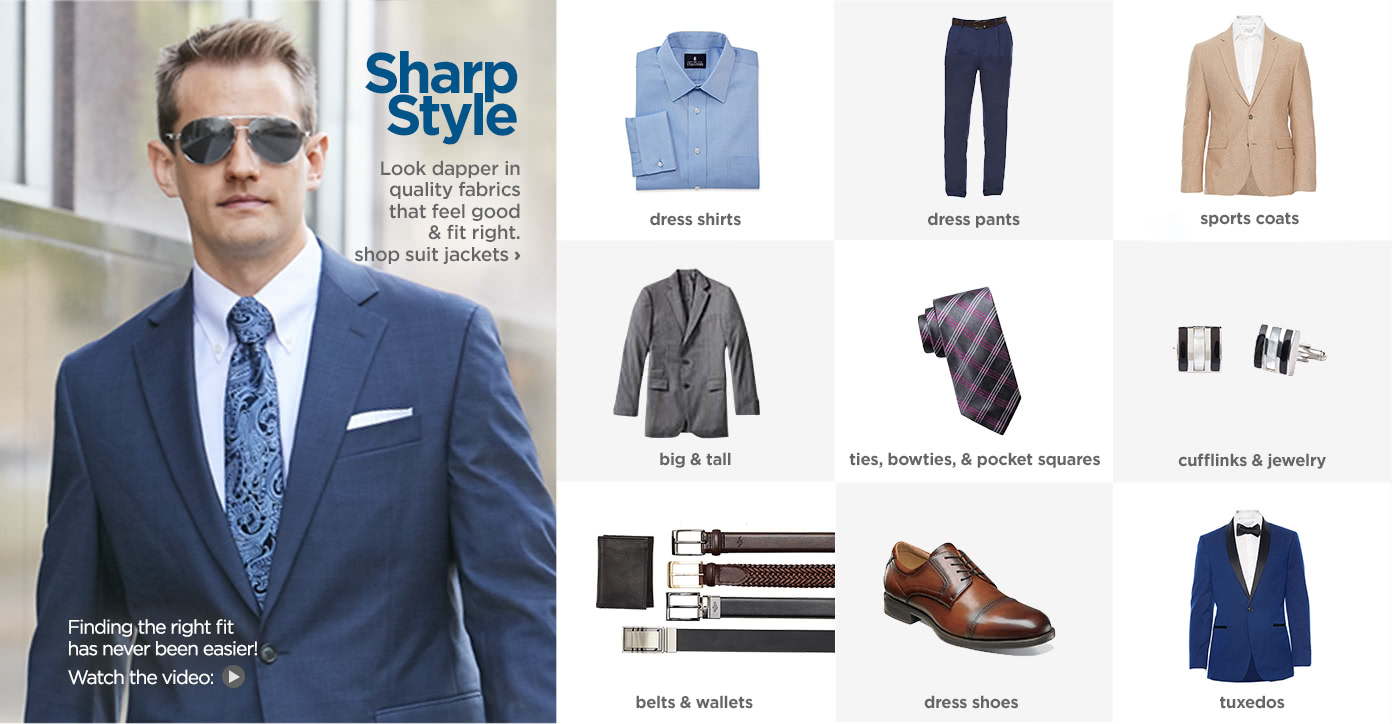 Dress Clothes For Men Jcpenney