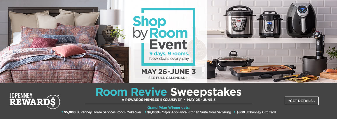 Shop by Room Event
